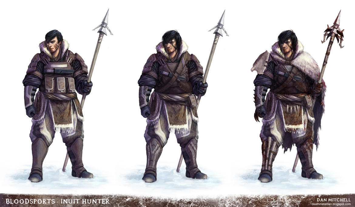 Inuit Hunter by DeathMetalDan