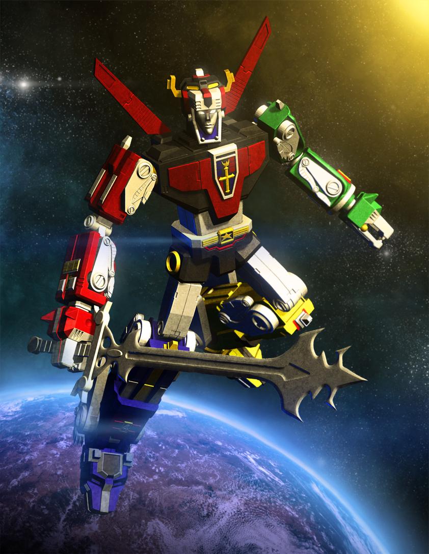 voltron defender of the universe by deathmetaldan on