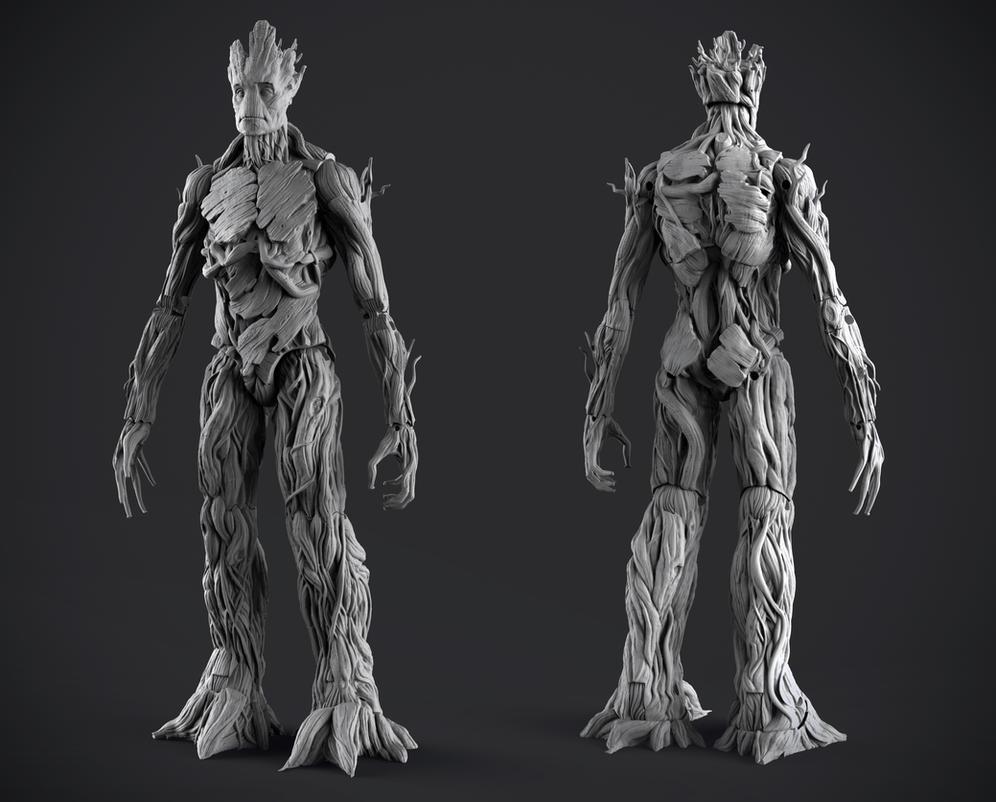 MVL Legends Infinite Series - Groot by DeathMetalDan