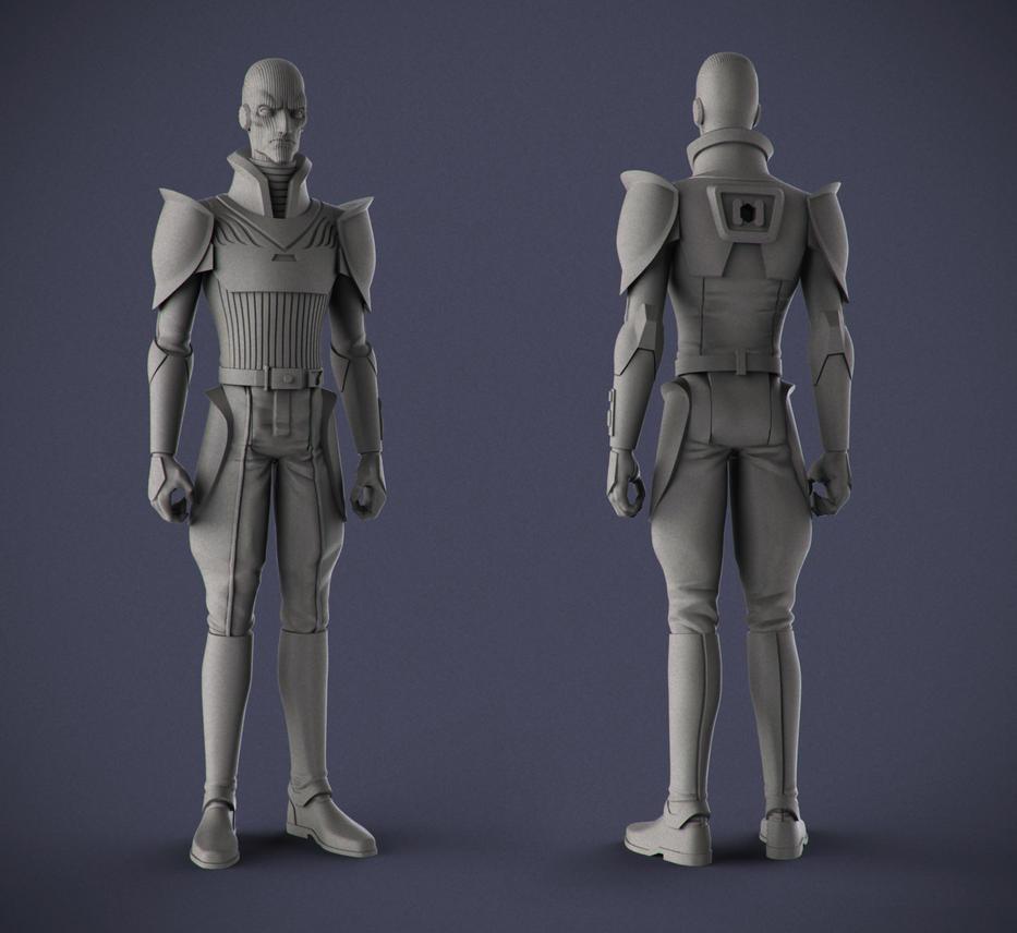 Star Wars: Rebels - Inquisitor by DeathMetalDan