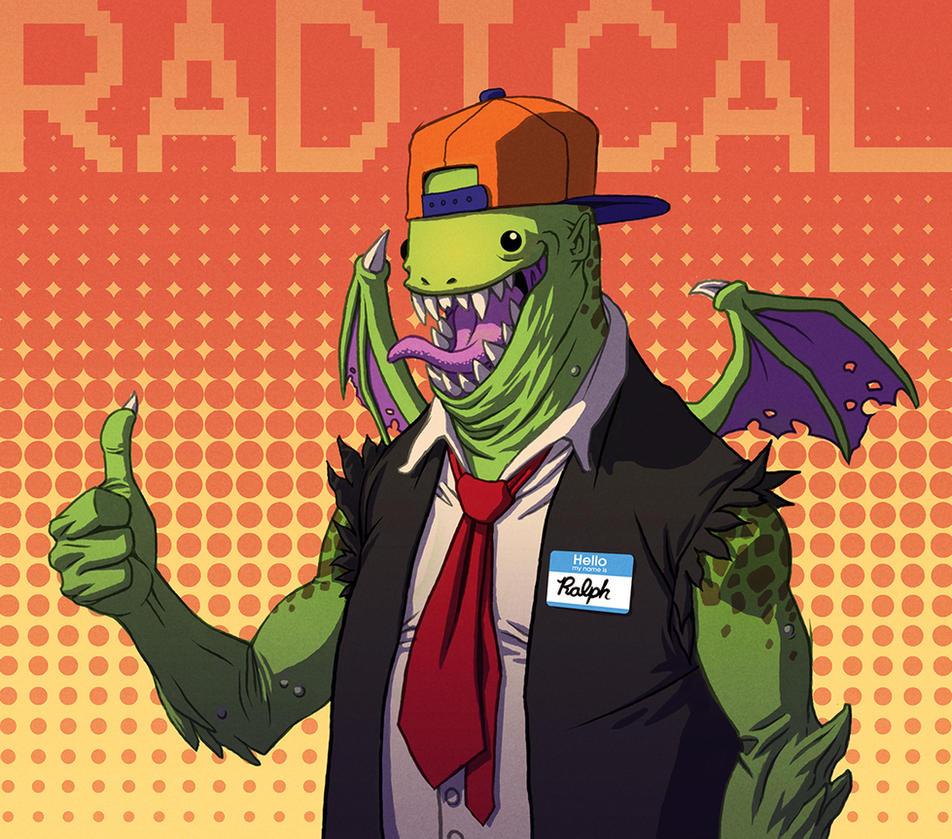 Radical Ralph by DeathMetalDan