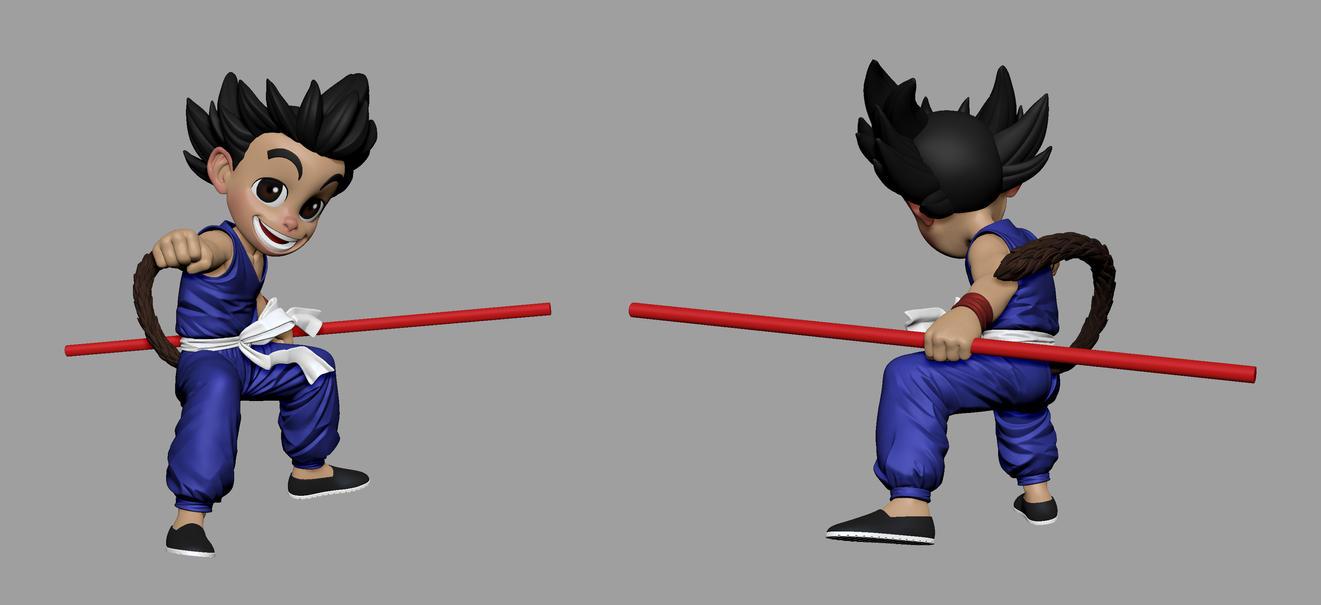 Goku WIP by DeathMetalDan