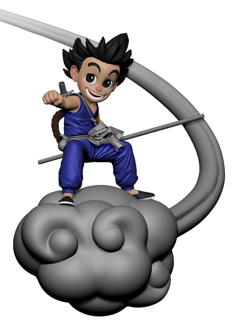 Goku WIP 2 by DeathMetalDan