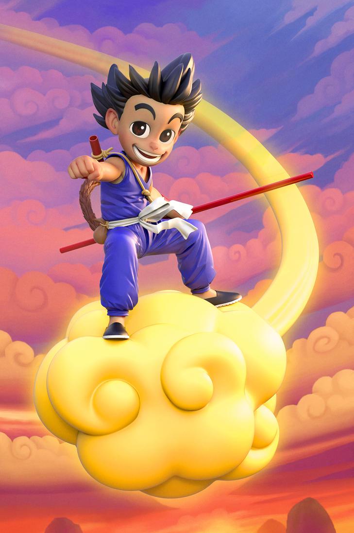 Son Goku by DeathMetalDan