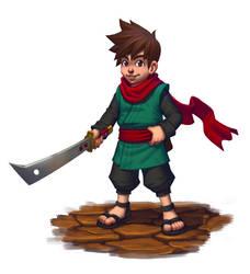 Tiny Hero by DeathMetalDan