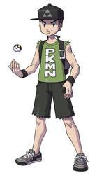 Pokemon Trainer Dan by DeathMetalDan