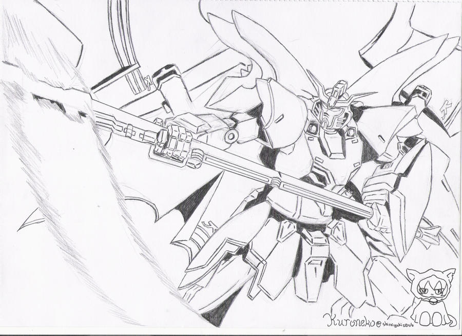 Gundam Wing Coloring Pages