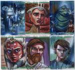 Clone Wars Sketch Cards