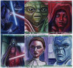 Clone Wars Sketch Cards 2