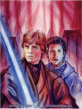Luke and Leia