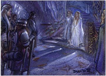 Meeting at Lothlorien by DavidRabbitte