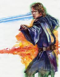 Anakin Skywalker by DavidRabbitte