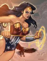 Wonder Woman by DavidRabbitte