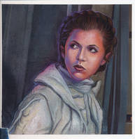 Hoth Leia Commission by DavidRabbitte