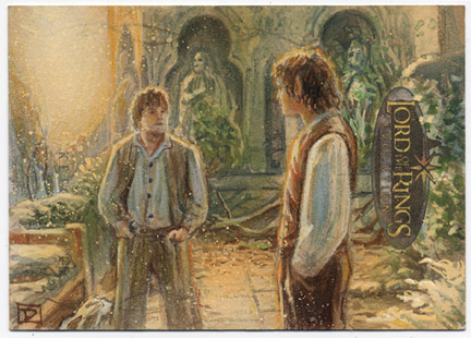 Frodo and Sam in Rivendell by DavidRabbitte