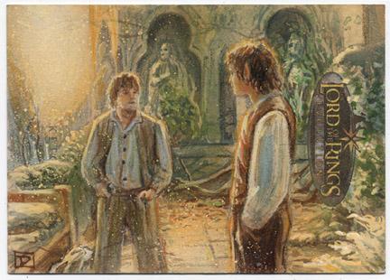 Frodo and Sam in Rivendell by DavidRabbitte