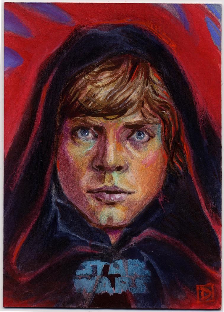 Star Wars Journey to the Force Awakens Sketch Card by DavidRabbitte