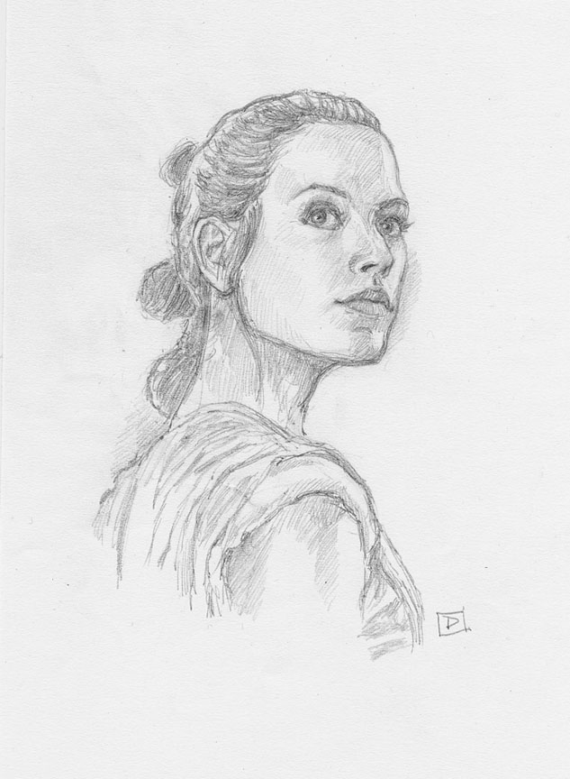 Rey - Portrait by DavidRabbitte