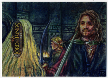 Lord of the Rings - Aragorn and Eowyn by DavidRabbitte
