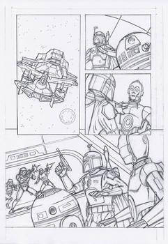 Star Wars Comic Page Sample 3