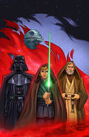Star Wars - Masters of the Force by DavidRabbitte