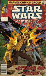 Star Wars Comic: Attack on Yavin