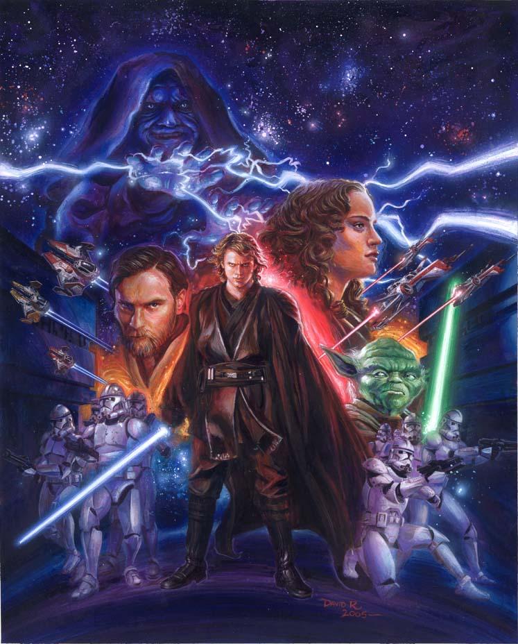 Star Wars Revenge Of The Sith By Davidrabbitte On Deviantart