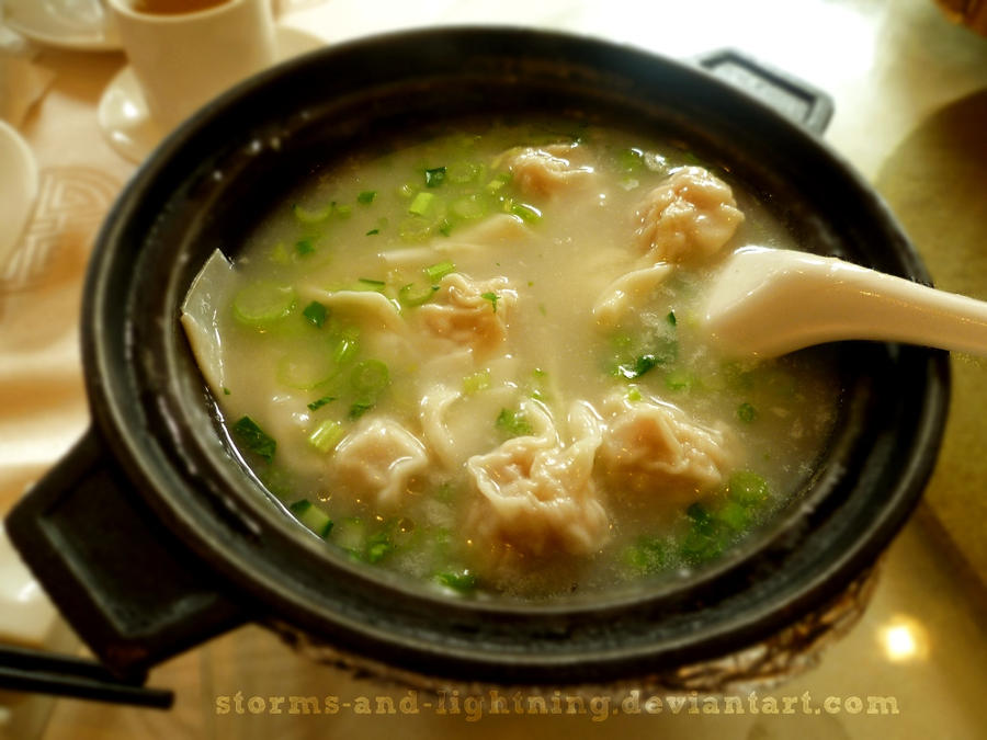 Wonton Soup by storms-and-lightning