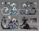 NYP cats adopts pack [3/4 OPEN] by yuternst