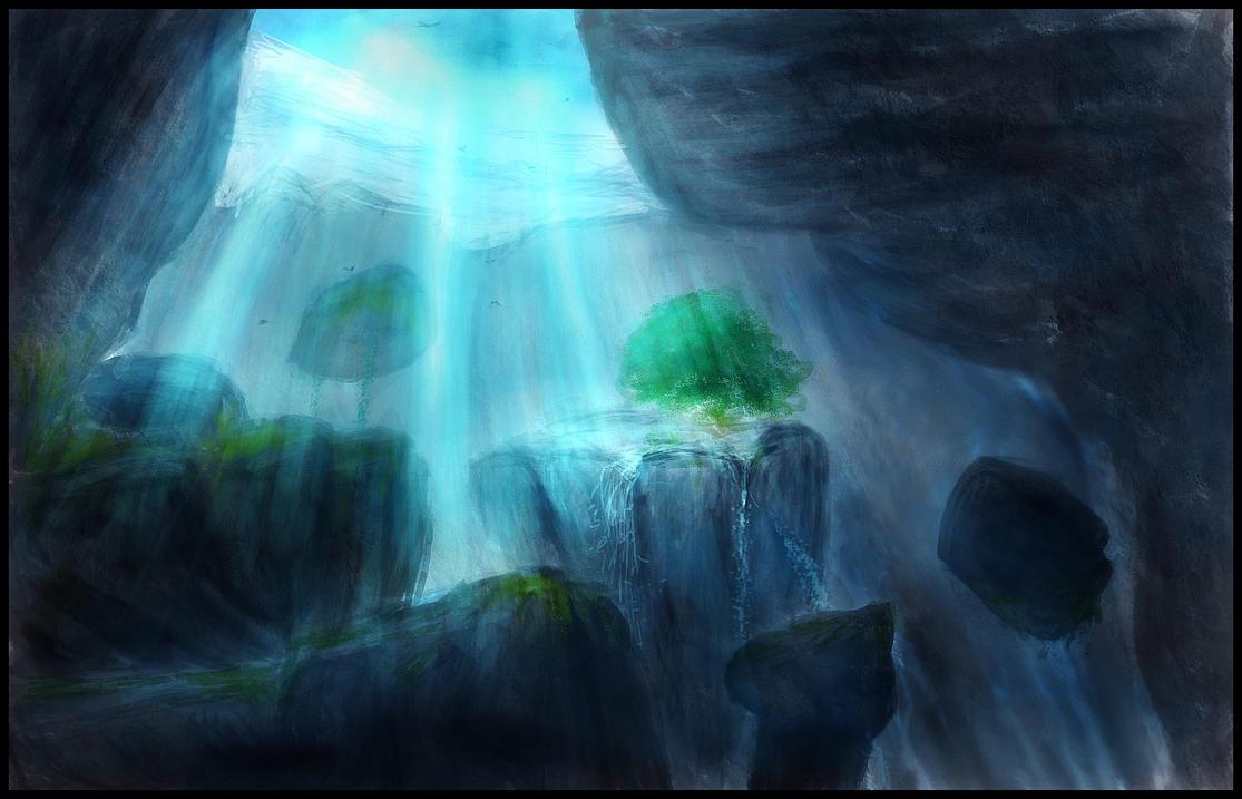 Sapphire Sanctum by hiperbola
