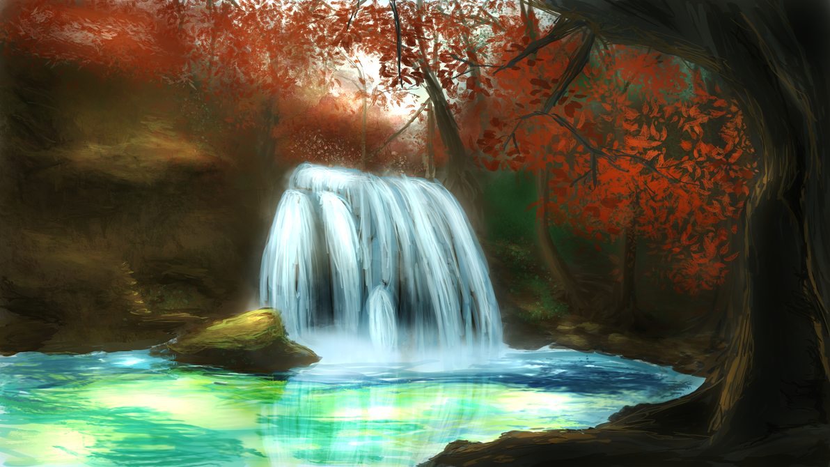 Waterfall by hiperbola