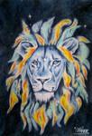 Lion Nebula by blue5dragons