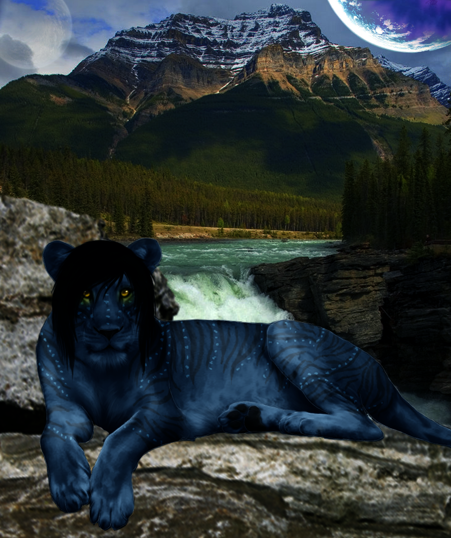 Avatar lion by xxmelodies