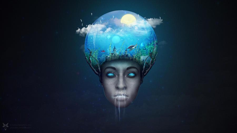 A lot on my head | Photo Manipulation