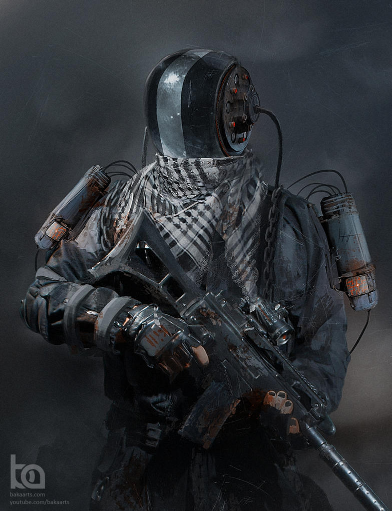 Mercenary by TheBakaArts
