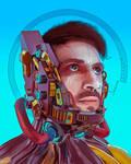 Cyberpunk Self Portrait