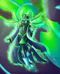 [SPOILERS] Mega/Gamma CURIE by pheonixia52