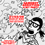gameboy addiction 8bit party by naZZilla
