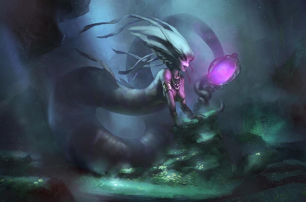 Kiradma, The Sea Serpent Queen by MaCalza