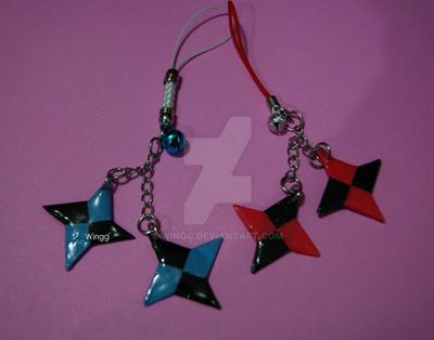 Ninja Star Charms by Wingg