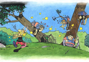 asterix by bogdanschi