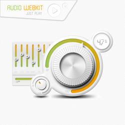 Audio Webkit Interface