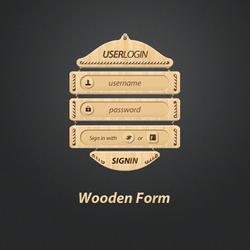 Wooden Webform