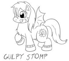 Gulpy Stomp the Night Pony by saber-th