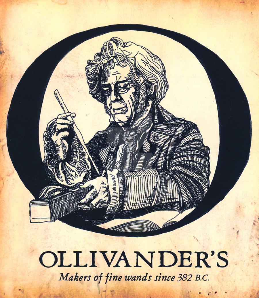 Logo for Olivander's Wands by JackRaz