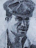 Painting of Jack Kerouac by JackRaz