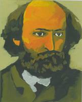 Portrait of Cezanne by JackRaz