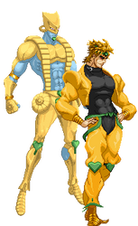 Dio Brando And The World by arthascf