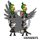 Minish Cap Link JUS Sprites by XTP597