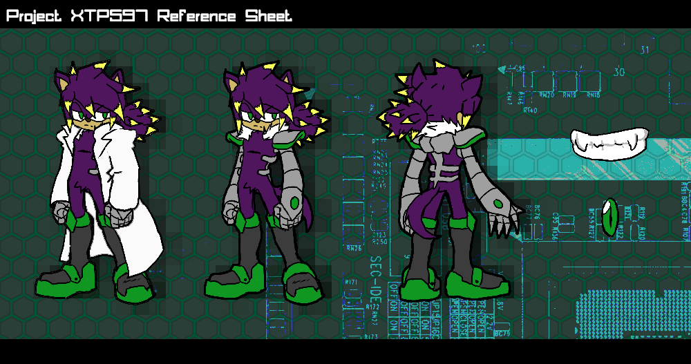 XTP597 Reference Sheet by XTP597